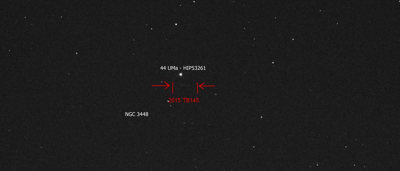 An asteroid 2015 TB145