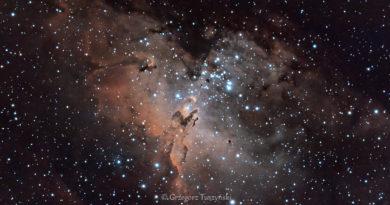 M16 – Mgławica Orzeł